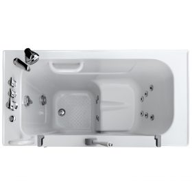 HY1141L Plus Hydrolife Deluxe Walk-in Tub