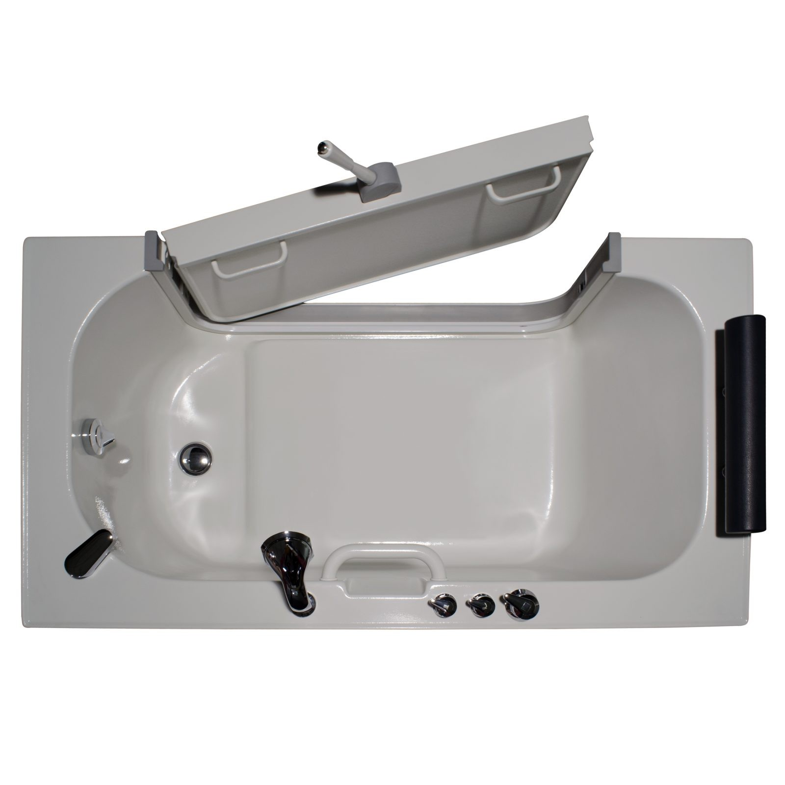 Neptune series sit in tubs buy now at homeward bath for Sit in tub shower