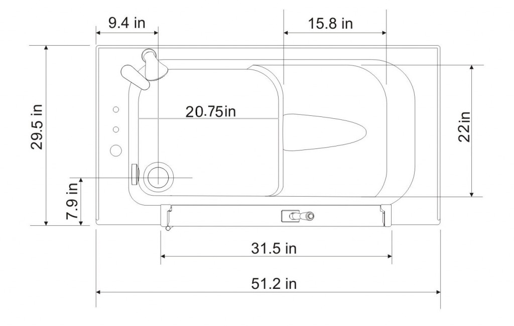 HY41X Top View Diagram