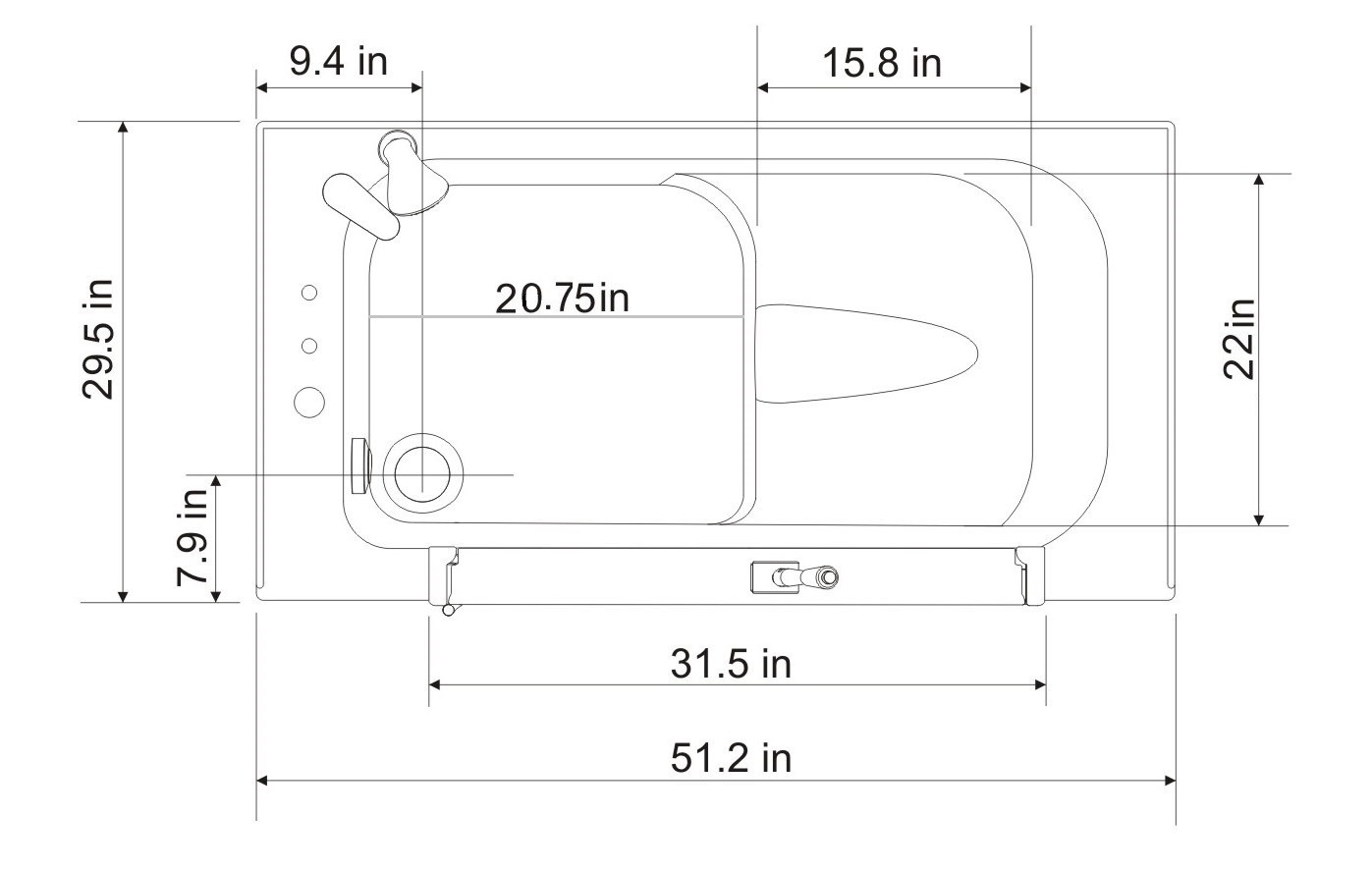 HY41X Top View Diagram