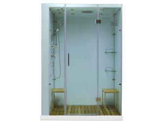 Contemporary Series Steam Shower M-6028 white