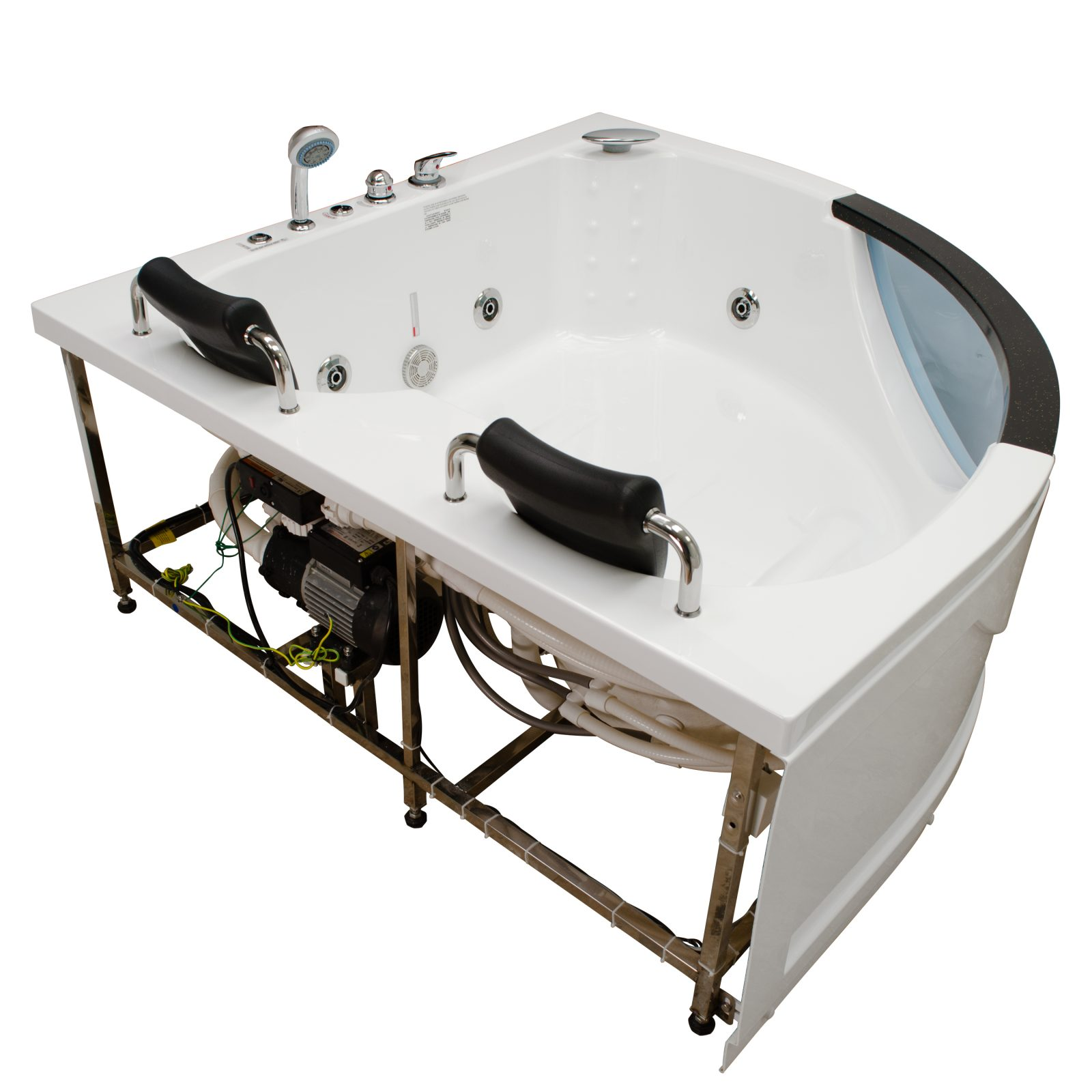 showers whirlpool tub for the units with steam images home steamrsr size ideas person shower sofa of exciting full